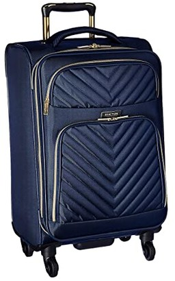 Kenneth Cole Reaction Chelsea Two-Piece Set (20 Carry-On Laptop Backpack) (Navy Chevron) Luggage
