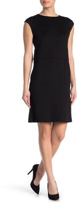 St. John Milano Wool Blend Dress
