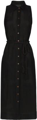 Lisa Marie Fernandez Alison sheer shirt dress