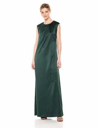 AVEC LES FILLES Women's Long Dress with Open Back