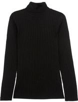 M Missoni Maglia Crochet-Knit Wool-Blend Turtleneck Sweater