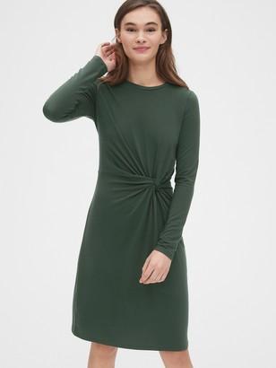 Gap Twist-Front Dress in TENCEL