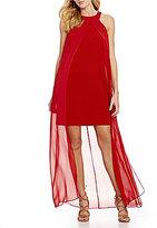 Trina Turk Beacon Caped Sleeveless Dress