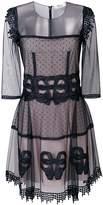 Blumarine lace design dress