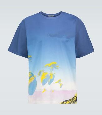 Valentino floating Islands cotton T-shirt