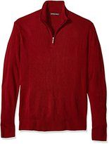 Geoffrey Beene Men's Tall Size Quarter Zip Sweater