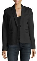 Brandon Thomas Ponte-Knit Blazer Jacket