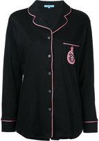 GUILD PRIME contrast trim blouse - women - Cotton - 34