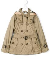 Burberry 'Grangemoor' technical trenchcoat - kids - Cotton/Polyamide/Cupro - 5 yrs
