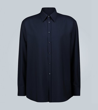 Valentino Exclusive to Mytheresa mohair and wool-blend shirt