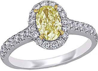 Diamond Select Cuts 14K Two-Tone 1.62 Ct. Tw. Diamond Ring
