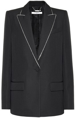 Givenchy Embellished wool blazer
