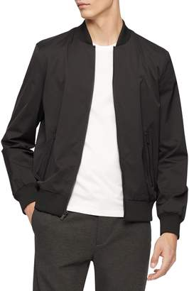 Calvin Klein Classic-Fit Bomber Jacket