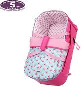 O Baby Obaby Zeal Carrycot - Cottage Rose