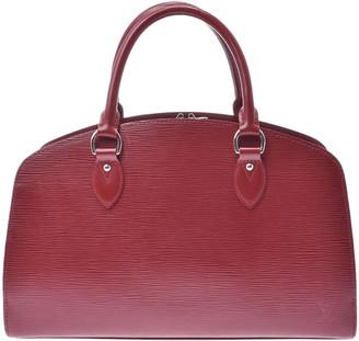 Louis Vuitton Ruby Epi Leather Pont-Neuf PM Bag