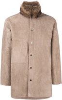 Liska - Alfredo coat - men - Lamb Skin/Lamb Fur/Fisher/Lamb Nubuck Leather - One Size