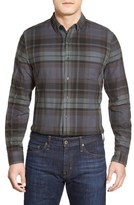 AG Jeans 'Nimbus' Trim Fit Plaid Sport Shirt