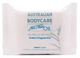 Australian Bodycare Tea Tree Oil Wet Wipes x 24
