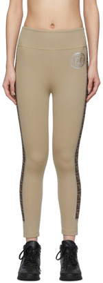 Fendi Tan Forever Leggings