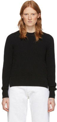Ami Alexandre Mattiussi Black Hammer Sleeves Sweater