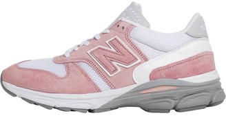 New Balance Womens 7709 Made In England Wide Fit Pink/White