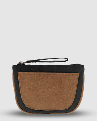 Logan Leather Half Moon Coin Purse