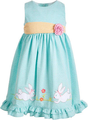 Good Lad Toddler Girls Bunny Seersucker Dress