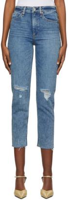 Rag & Bone Indigo Nina Cigarette Jeans