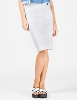 Aries White Romford Pencil Skirt