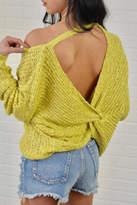 Debut Twist Back Sweater