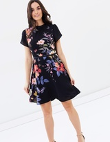 Oasis Madison Placement Skater Dress