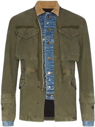 Greg Lauren Military-Style Jacket