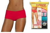 Fruit of the Loom Women's 6-Pack Cotton Shorties - s 6DSHTAS