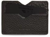 Mackage Women's Wes Leather Card Case - Black