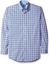 Izod Men's Big and Tall Advantage Performance Long Sleeve Shirts