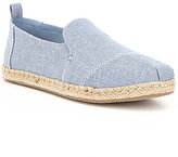 Toms Deconstructed Alpargata Slip Ons