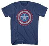 Marvel Men's Captain America Shield T-Shirt Academy