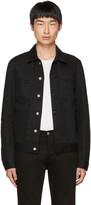 Acne Studios Black Denim Pass Jacket