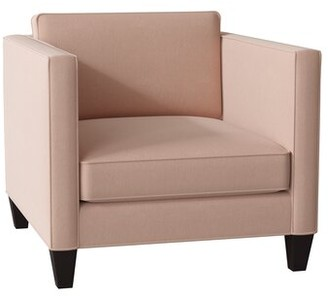 Latitude Run Pudalov Armchair Body Fabric: Boulderdash Mocha
