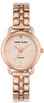 Anne Klein Women's Diamond Bracelet Watch, 30Mm