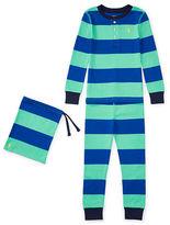 Ralph Lauren Striped Cotton Sleep Set