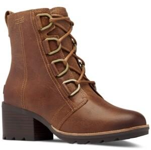 Sorel Women's Cate Lace Lug Sole Booties Women's Shoes