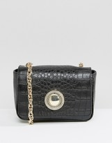Versace Croc Shoulder Bag