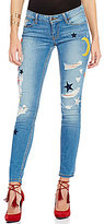 GUESS Patched Power Skinny Jeans