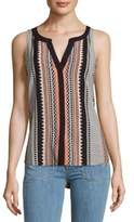 Sanctuary Craft Shell Printed Top