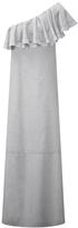 Lisa Marie Fernandez Arden Flounce Sheer Dress