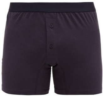 Comme des Garcons Cotton Boxer Briefs - Mens - Navy