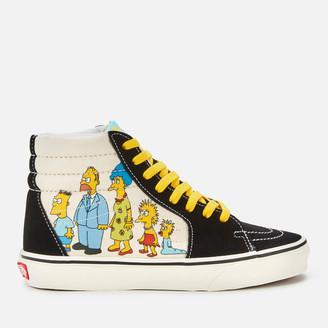 Vans X The Simpsons Sk8 Hi-Top Trainers