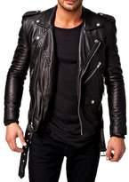 Laverapelle Men's Genuine Lambskin Leather Jacket - 1510532 - 2XL