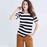 Madewell Whisper Cotton Crewneck Tee in Allendale Stripe